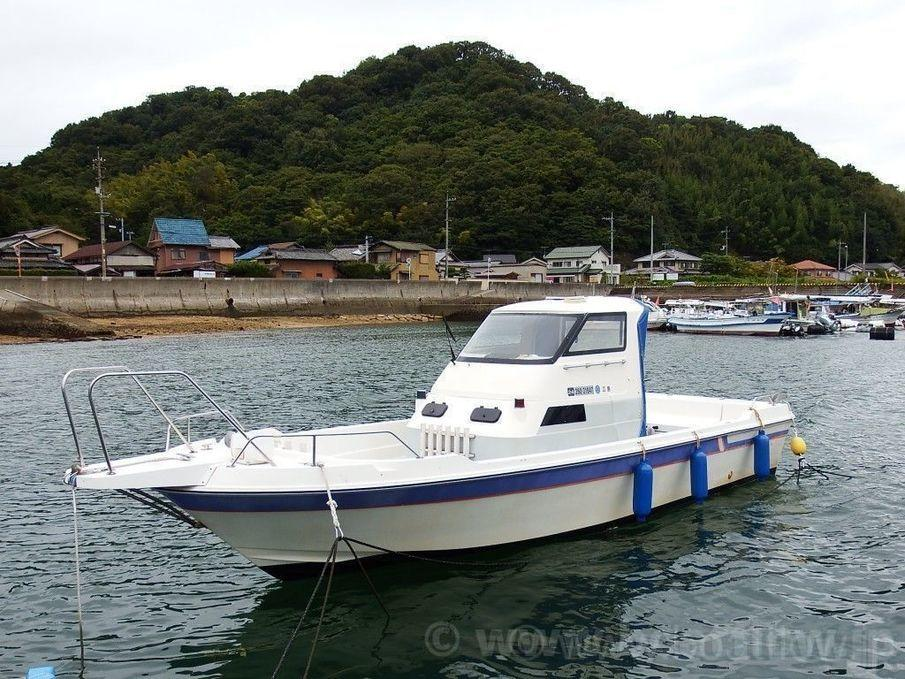 Yamaha uf 25 stern drive used boat in japan for sale for Yamaha fishing boats