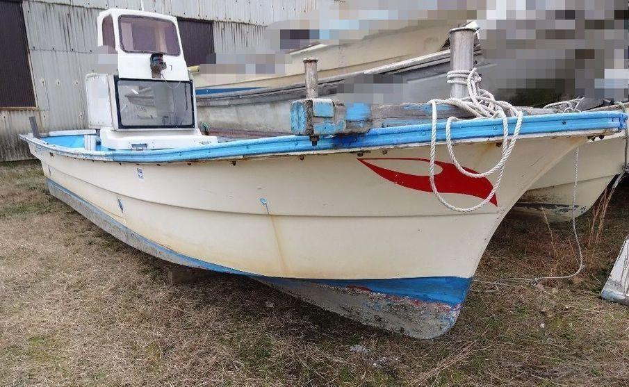 Yanmar fishing boat stern drive used boat in japan for sale for Used fishing boat