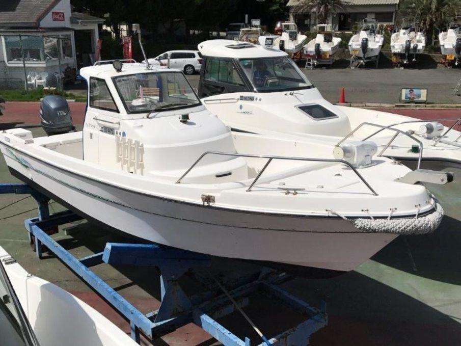 Nissan joyfriend 23 outboard used boat in japan for sale for Boat motor size calculator