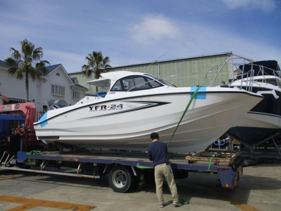 Yamaha yfr 24 fsr outboard used boat in japan for sale for Yamaha 24 boat