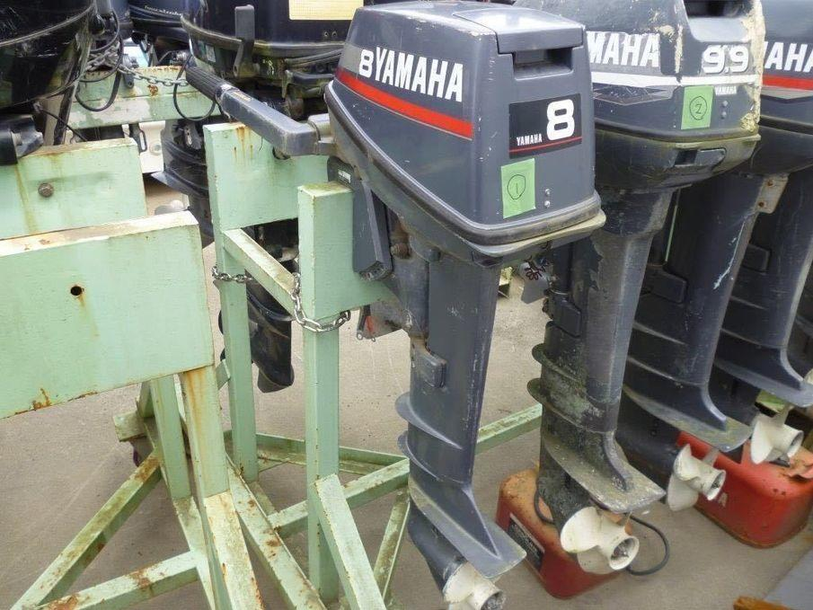 YAMAHA OUTBOARD ENGINE OUTBOARD used boat in