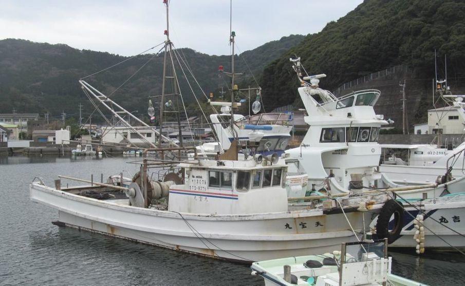 YANMAR FISHING BOAT INBOARD used boat in Japan for sale