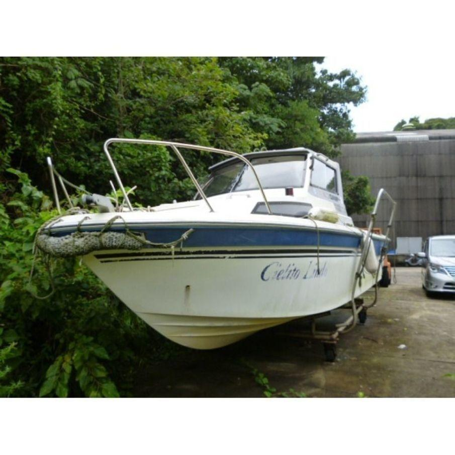 Yamaha fr 23 outboard used boat in japan for sale for Sailboat outboard motor size calculator