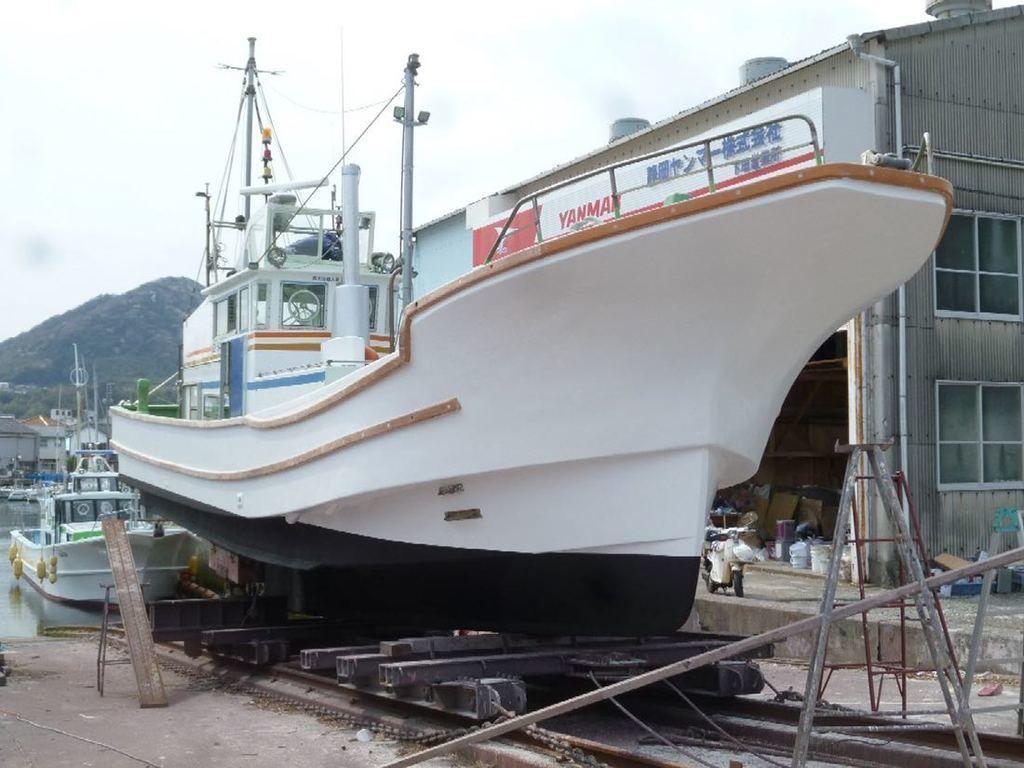 Omiya Shipyard Fishing Vessel Inboard Used Boat In Japan For Sale Boatflow Jp