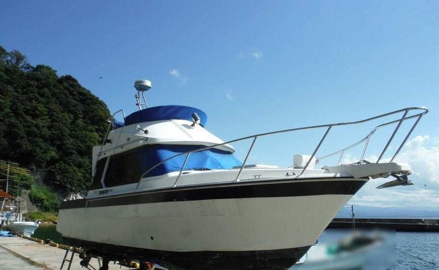 YANMAR FM26 MARINE HUNTER STERN DRIVE used boat in Japan